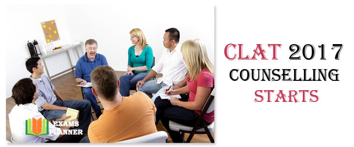 CLAT 2017 Counselling Procedure