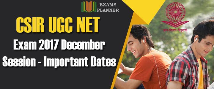 CSIR UGC NET EXAM Registration Begins