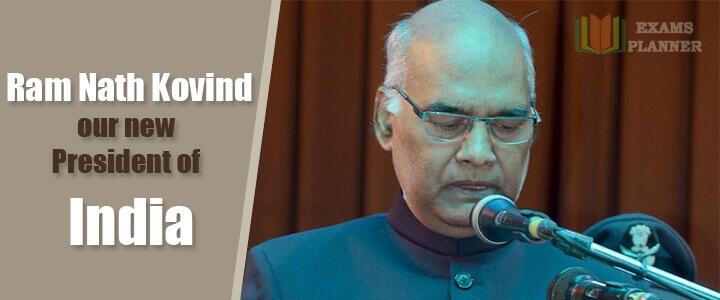 Ram Nath Kovind New President of India