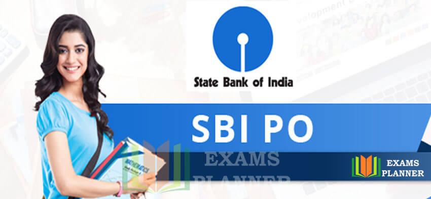 SBI PO Exam 2017