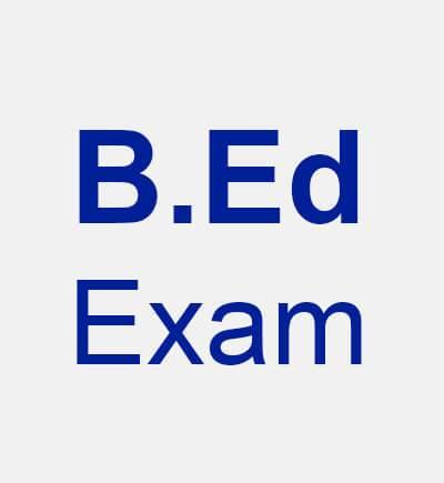 B.Ed Exam