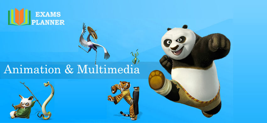 Courses in Animation and Multimedia