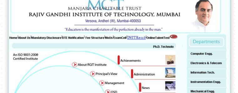 Rajiv Gandhi Institute of Technology (RGIT)