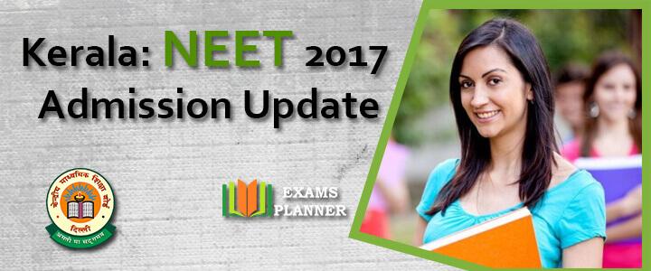 Kerala NEET 2017 Spot Admission