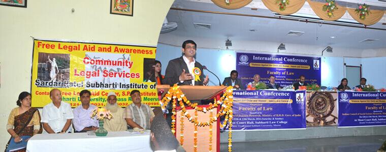 Sardar Patel Subharti Institute of Law