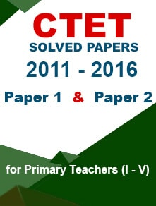CTET 5 Years Solved Papers (E-Book)