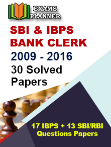 SBI/IBPS Solved Papers 2009 - 2016